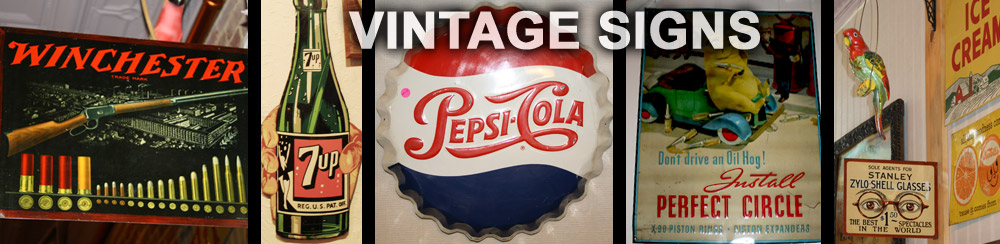 Vintage Sign Collections